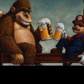 Cerveza y videojuegos