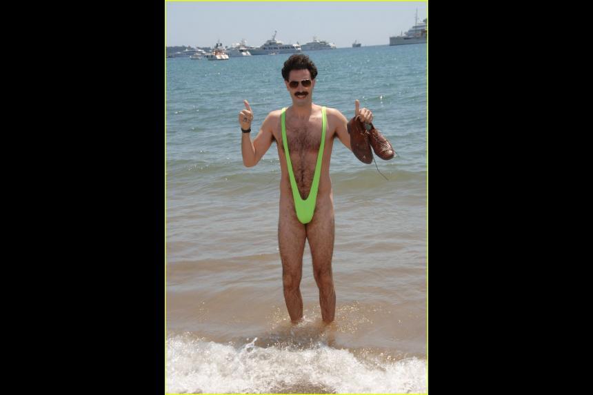 Borat mankini traje de ba o para hombre el blog del macho - Traje de bano hombre ...